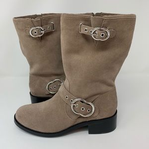 Vince Camuto   Suede Moto Boot   7.5M